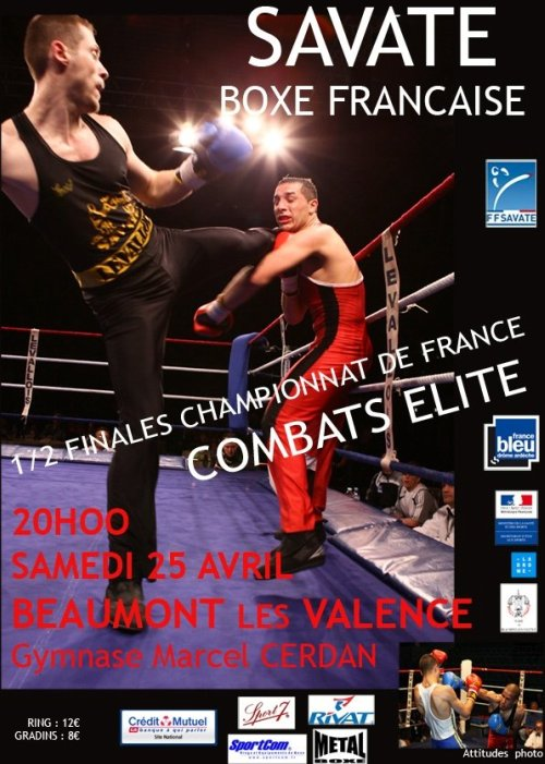 demi finale elite 2009 savate boxe francaise